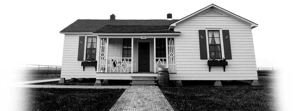 The Johnny Cash Boyhood Home in Dyess, Ark.