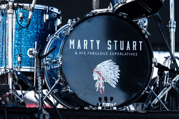 Marty Stuart's Drum Kit