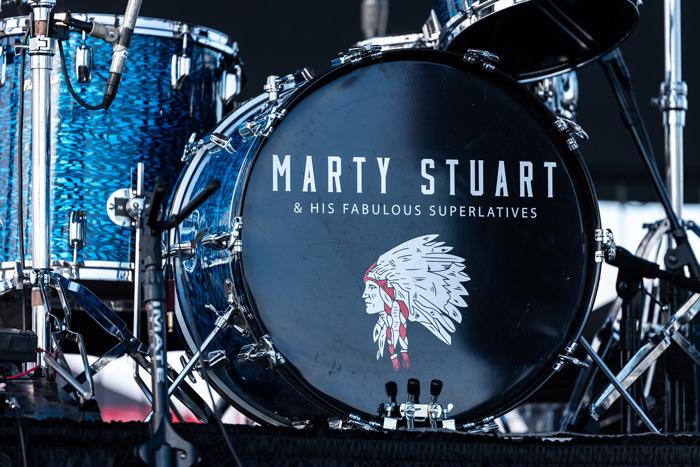 Marty Stuart's Drum Kit